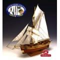 Corabie din lemn - GJOA Constructo 1/64 - Kit de constructie