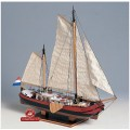 Corabii din lemn - SILHUET 1/60 Kit de constructie
