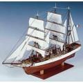 Corabie din lemn - Le Pourquoi-Pas? 1/80 Constructo - 76 cm ...