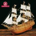 Corabie din lemn - H.M.S. BOUNTY 1/50 Constructo lungime 61c...