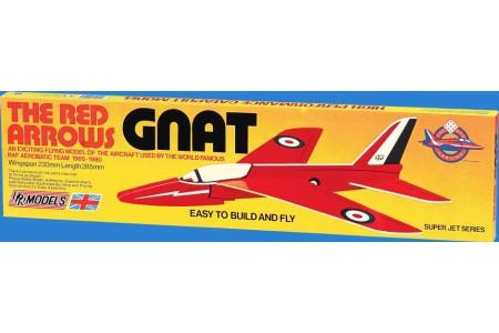 Kit de asamblare Avion balsa GNAT 23cm