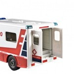 Double Eagle: Ambulanta Mercedes cu sunet si lumina 1:18, 2.4GHz, RTR