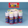 Spray  -albastru -Styrofoam si ABS