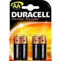 Baterie Duracell plus 1,5V AA 4buc.