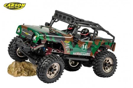 Automodel Mountain Warrior Sport 100% RTR Camouflage 4WD 1:12
