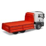 Camion MAN TGS cu bena basculanta BRUDER