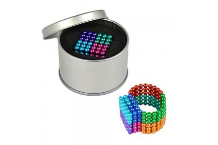 Neocube 216 bile magnetice 5mm colorat