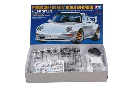 Tamiya 1/24 Porsche 911 GT2 Road Version Club Sport, macheta de asamblat