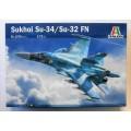 1/72 Macheta Sukhoi Su-34/Su-32 FN italeri