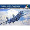 """1/72 Macheta Sukhoi SU-27 D """"Sea Flanker"""" Italeri"""