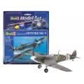 Macheta avion Supermarine Spitfire Mk V, Revell 64164