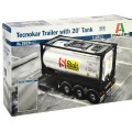 Tecnokar Trailer whit 20'Tank, Italeri 1:24