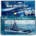Nava de razboi U.S.S. Missouri (WWII) 1/1200, Revell