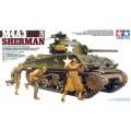 Macheta Tanc M4A3 Sherman 75mm GUN 1:35 Tamiya