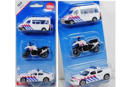 Set masinute de politie - Olanda, Siku metal