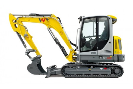 Excavator Wacker Neuson ET65, Siku metal 1:50