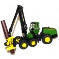 Tractor metalic forestier John Deere Harvester 1:32 Siku