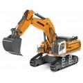 Excavator LIEBHERR R980 SME metalic Radiocomandat 1:32 Siku